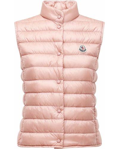 Różowa kamizelka Moncler