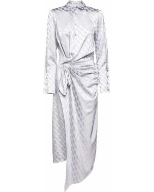 Платье миди на пуговицах платье-майка The Attico