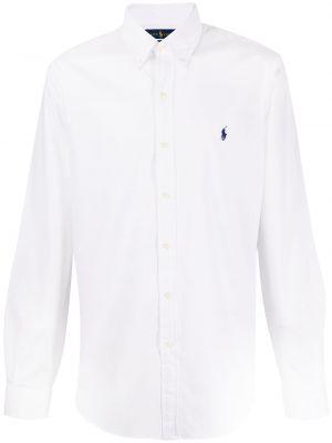 Классическая рубашка на пуговицах узкого кроя Polo Ralph Lauren