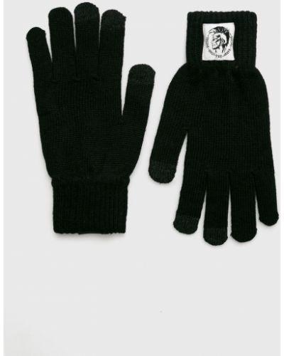 Перчатки шерстяные текстильные Diesel