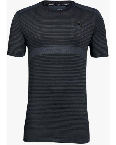 Серая футболка спортивная Under Armour