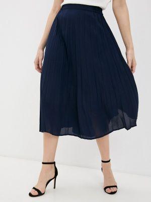 Синяя плиссированная юбка Springfield