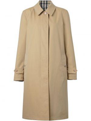 Пальто в клетку двустороннее Burberry