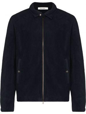 Флисовая куртка - синяя Wood Wood