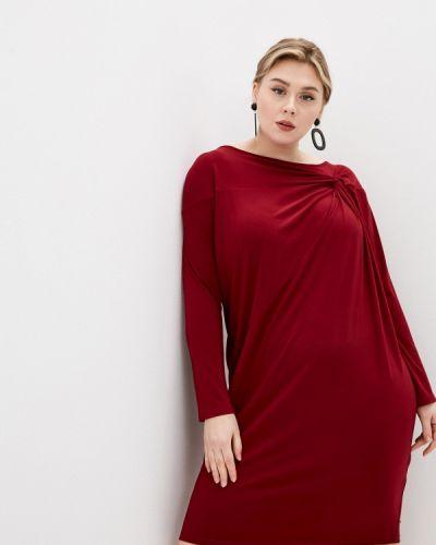 Повседневное красное платье Persona By Marina Rinaldi