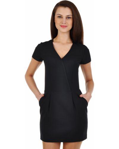 Шерстяное платье - черное Paul & Joe