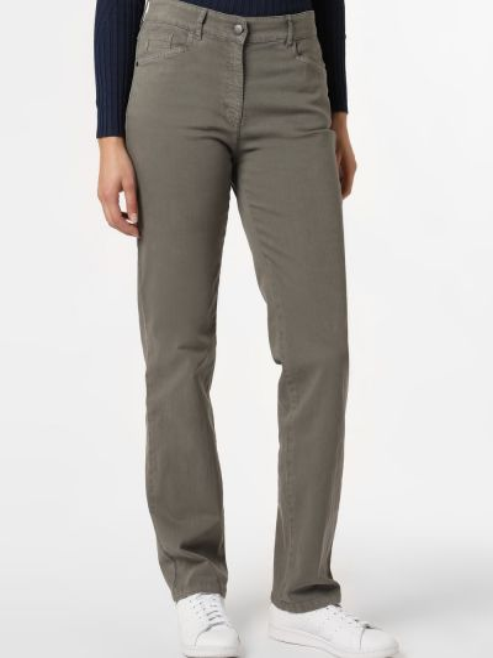 Zielone mom jeans Zerres