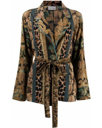 Разноцветный пиджак Pierre-louis Mascia