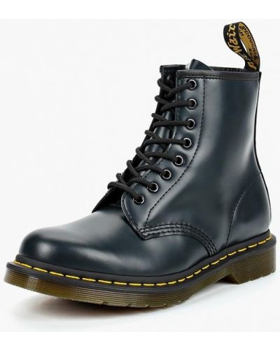 Ботинки осенние кожаные высокие Dr Martens