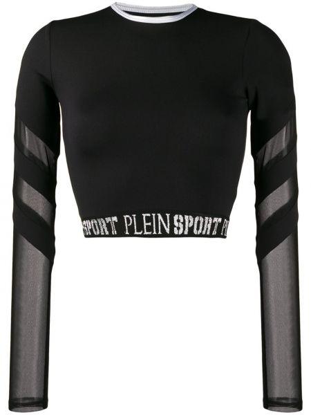 Спортивный топ - черный Plein Sport