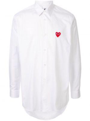 Классическая прямая рубашка с воротником на пуговицах Comme Des GarÇons Play