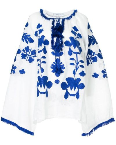 Блузка свободного кроя с широкими рукавами March 11
