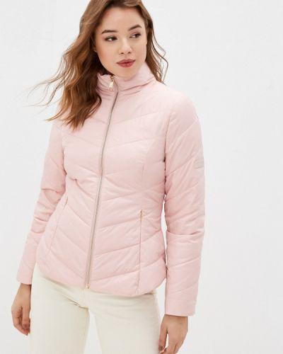 Утепленная розовая куртка Ted Baker London