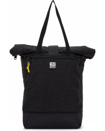 Plecak na laptopa - czarny Diesel