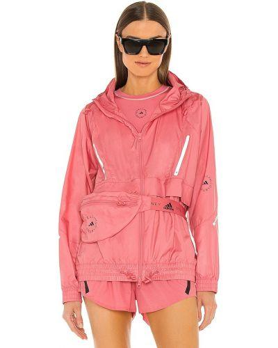 Ветровка с капюшоном - розовая Adidas By Stella Mccartney