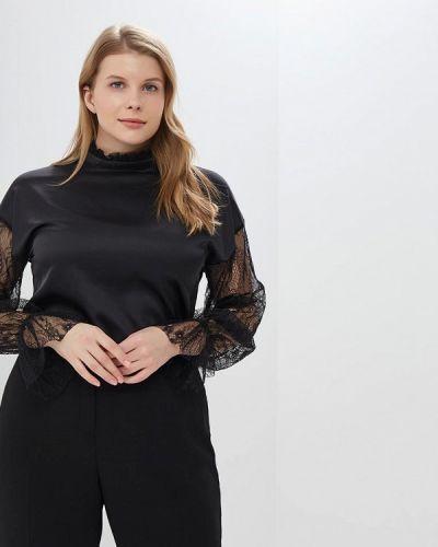 Блузка кружевная черная Gepur