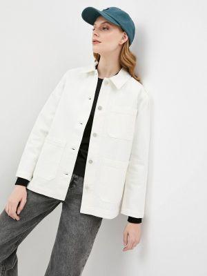 Джинсовая куртка - белая Wood Wood