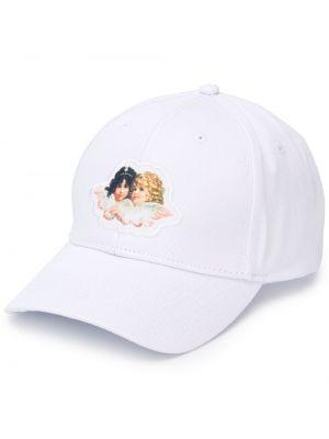 Хлопковая кепка - белая Fiorucci