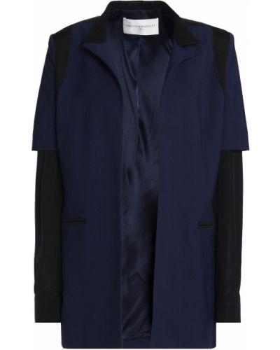Пиджак с подкладкой на пуговицах из вискозы Amanda Wakeley