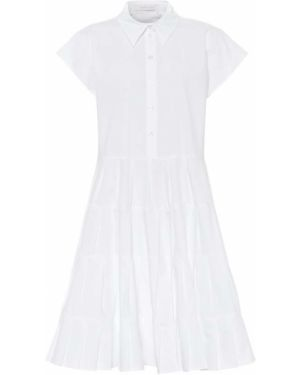 Платье миди из поплина платье-майка See By Chloé