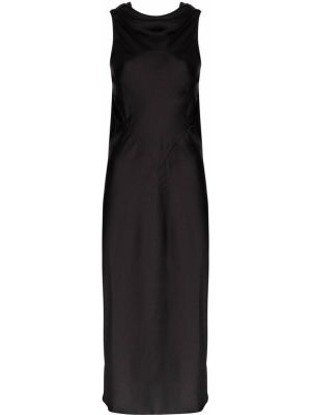 Платье миди с открытой спиной деловое Rick Owens
