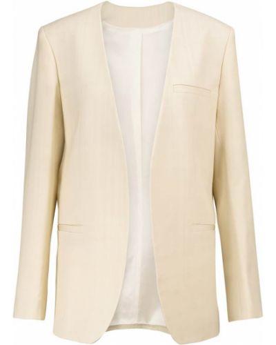 Белый пиджак из вискозы Toteme