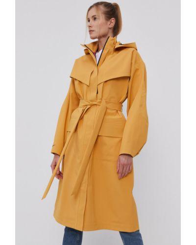 Żółta kurtka z kapturem oversize Nike Sportswear