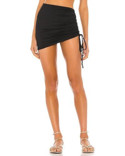 Czarna spódnica z falbanami na plażę L*space