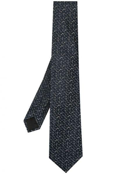 Krawat jedwab niebieski Cerruti 1881