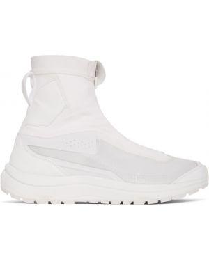 Wysoki sneakersy białe z siatką 11 By Boris Bidjan Saberi