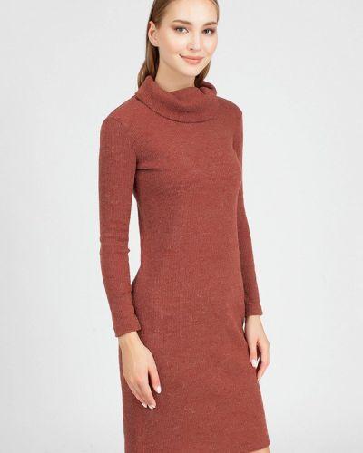 Платье - коричневое Serginnetti