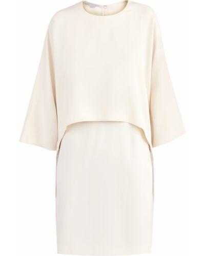 Платье мини с бахромой прямое Stella Mccartney