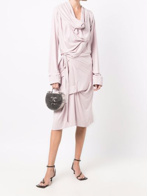 Платье миди - розовое Vivienne Westwood