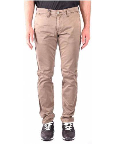 Mom jeans - beżowe Armani Jeans