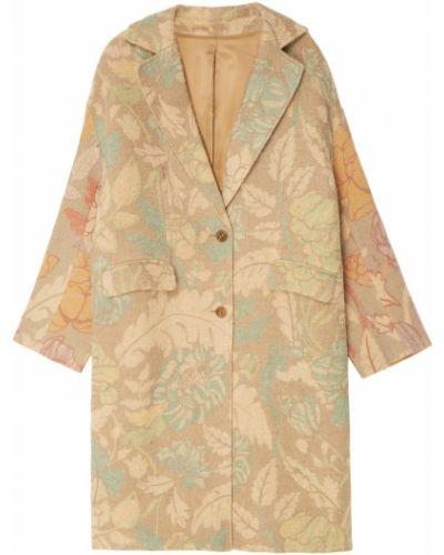 Длинное пальто оверсайз из альпаки Acne Studios