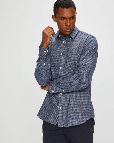 Рубашка с длинным рукавом хлопковая с узором Selected