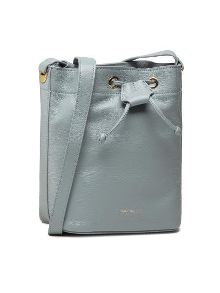 Niebieska torebka worek Coccinelle
