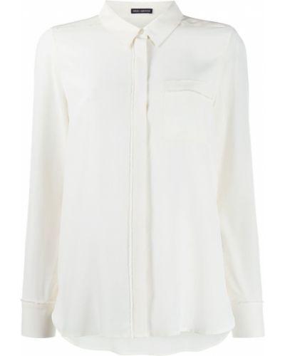 Рубашка с длинным рукавом белая в полоску Iris Von Arnim