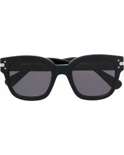 Солнцезащитные очки оверсайз - черные Amiri