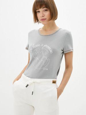 Серая футболка осенняя Torstai