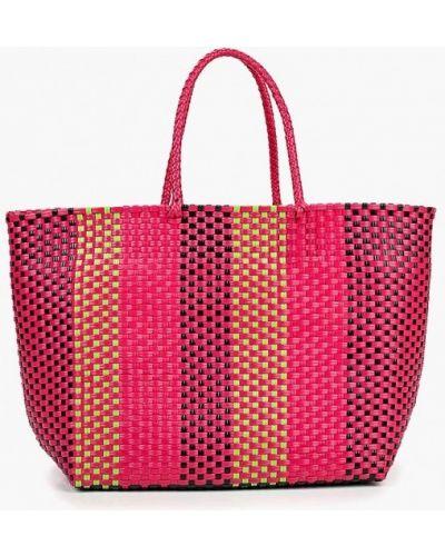 Пляжная сумка розовый United Colors Of Benetton