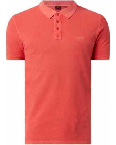 Pomarańczowy t-shirt bawełniany Joop! Jeans