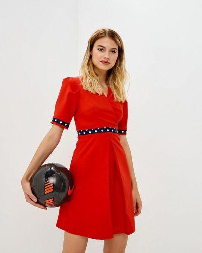 Красное платье весеннее Tutto Bene