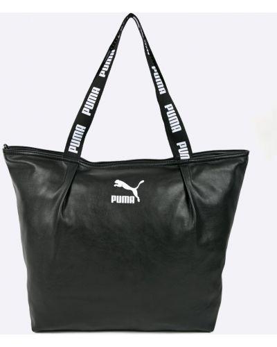 Черные очки кожаные Puma