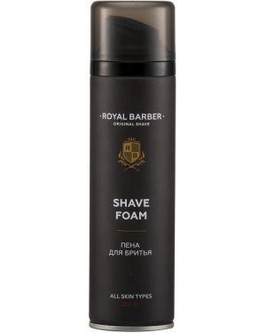 Кожаная пена для бритья увлажняющая Royal Barber