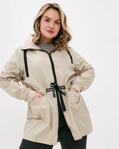 Облегченная бежевая куртка Ulla Popken