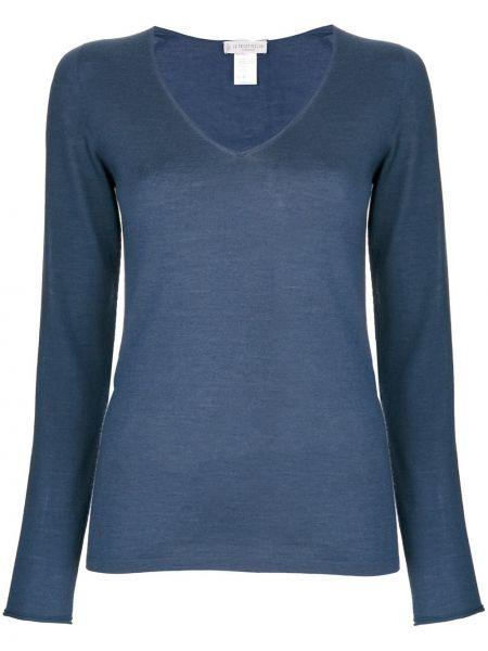 Кашемировый свитер - синий Le Tricot Perugia