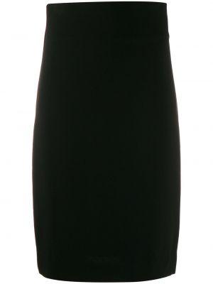 Черная приталенная юбка карандаш с рукавом 3/4 Jean Paul Gaultier Pre-owned