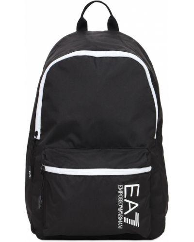 Рюкзак с карманами на молнии на бретелях Ea7 Emporio Armani
