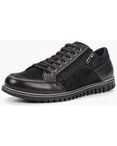 Ботинки осенние из нубука кожаные Hcs
